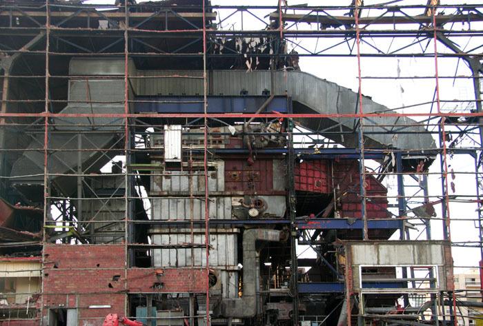 Paris old gaz factory