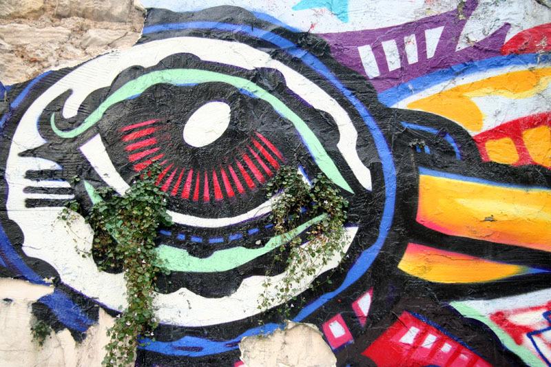 tags street art flowers