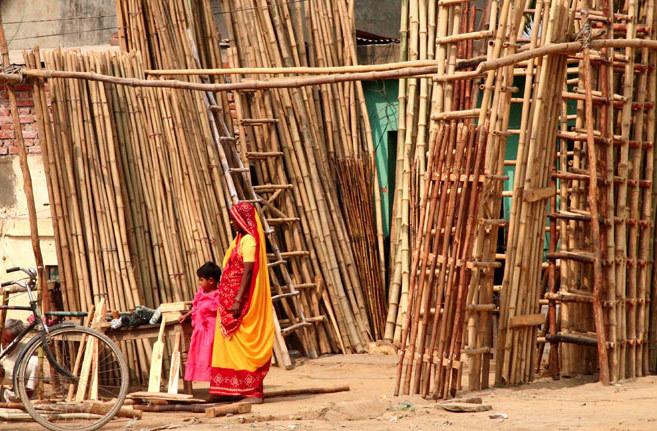 Inde bambou femme