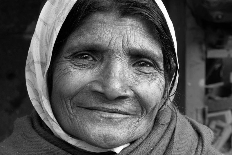 Portait of an old woman