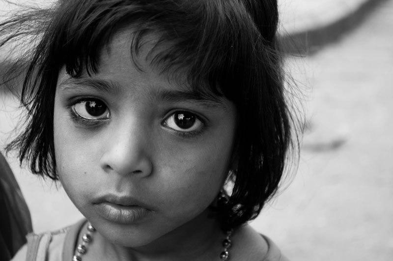 Girl in Kashmir