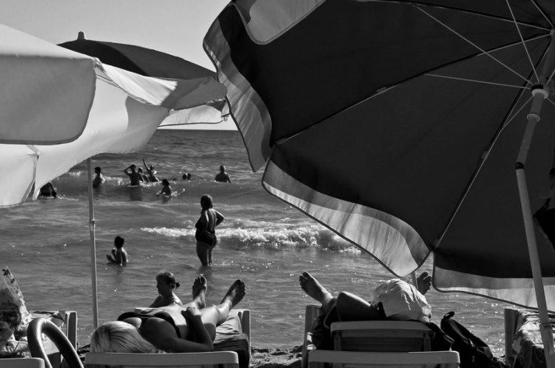 Un jour à la plage  /  One day on the beach