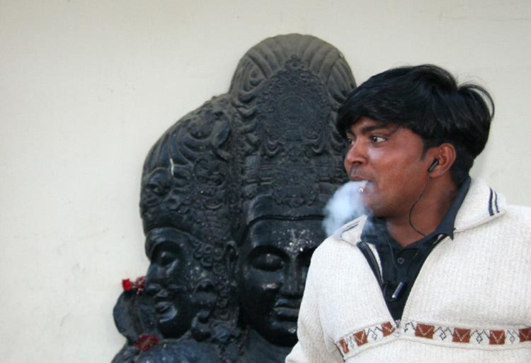 fumeur de beedees