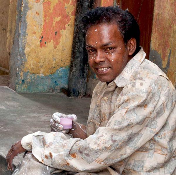 Delhi, peintre