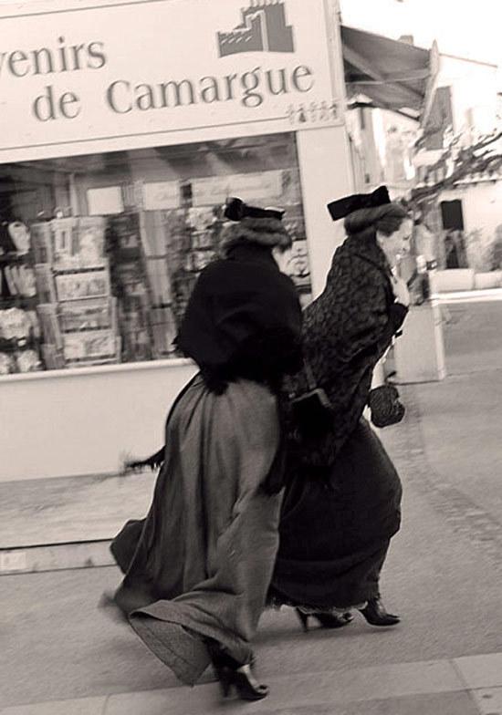 France  camargue festival women wind