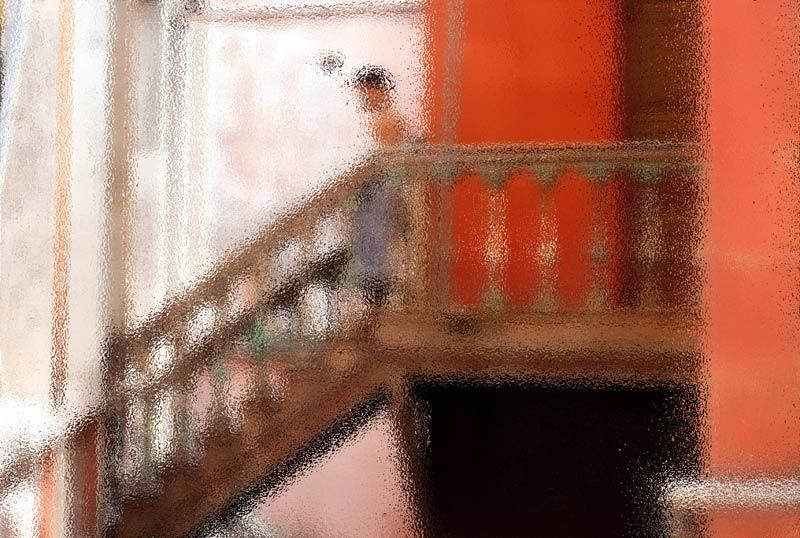 L'escalier /  The stairs