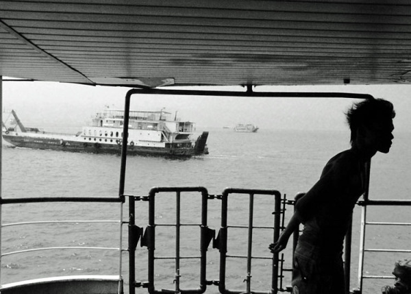 entre deux rives / ferry in Java