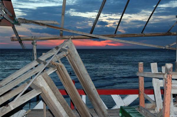 après la tempete / sunset