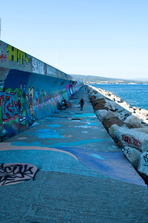 Le chemin du graff / The graffiti way