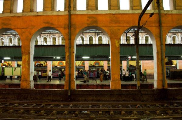 L'amour des gares : Calcutta  1