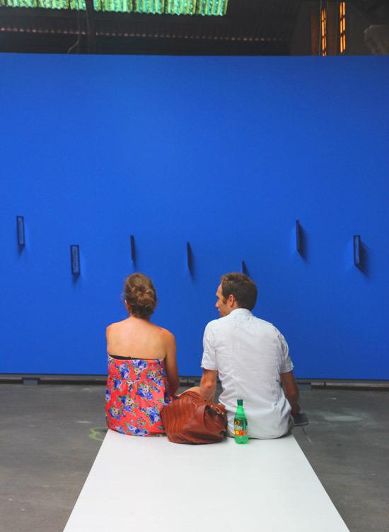 En Arles / blue
