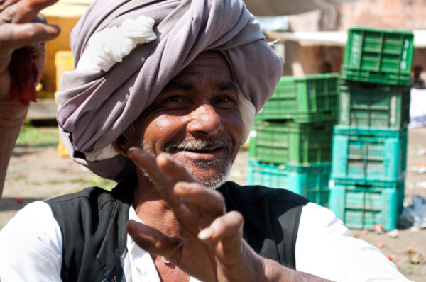 L'homme au turban / The man with the turban