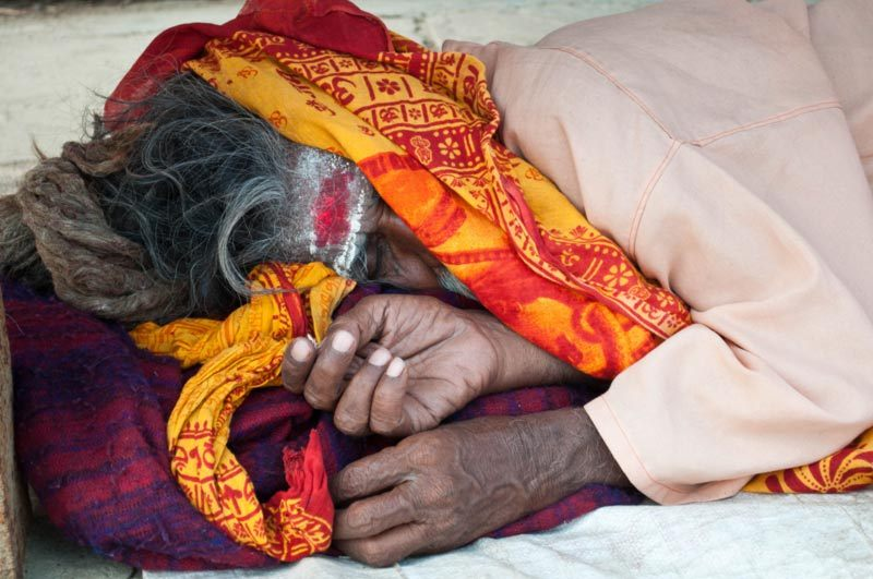 Les dormants des ghats / Sleeping on the ghats 3