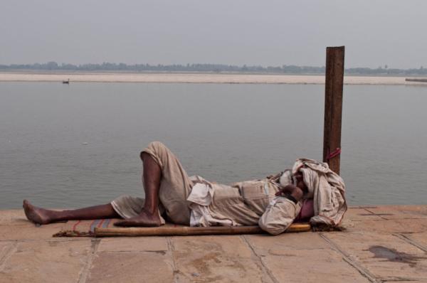 Et on continue à dormir sur les ghats