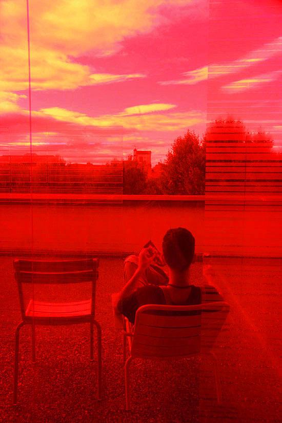 sunset arles