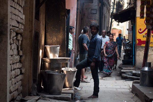 Les rues des villes: Benares  4