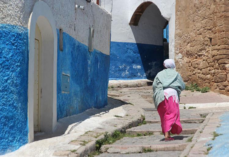 rues bleues