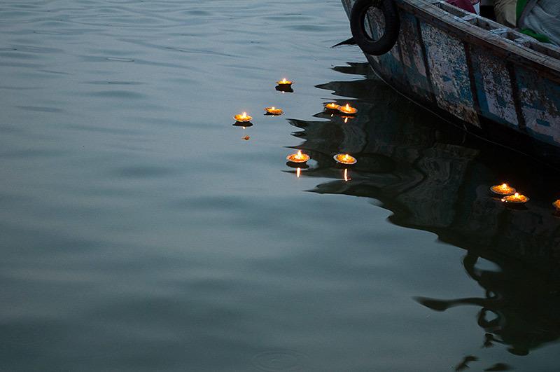 Lumières sur le fleuve / Lights on the river