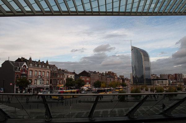 Liège, vue de la gare / Liège from the station