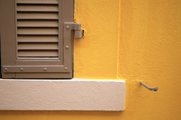 Couleurs, jaune / Colors, yellow