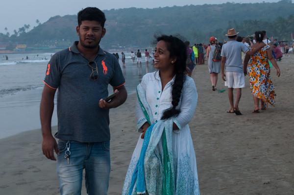 Promenades le long de la mer / Couple 3
