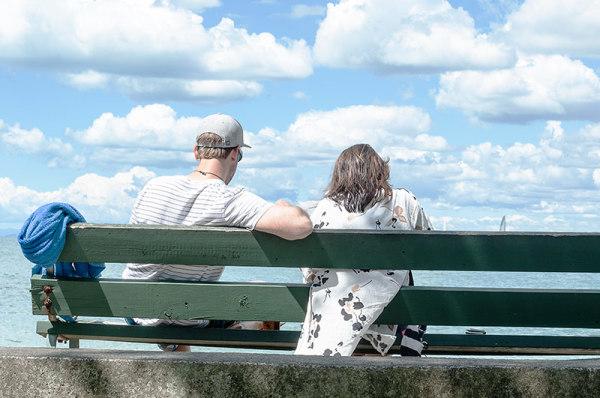 Sur le banc /  On the bench  3