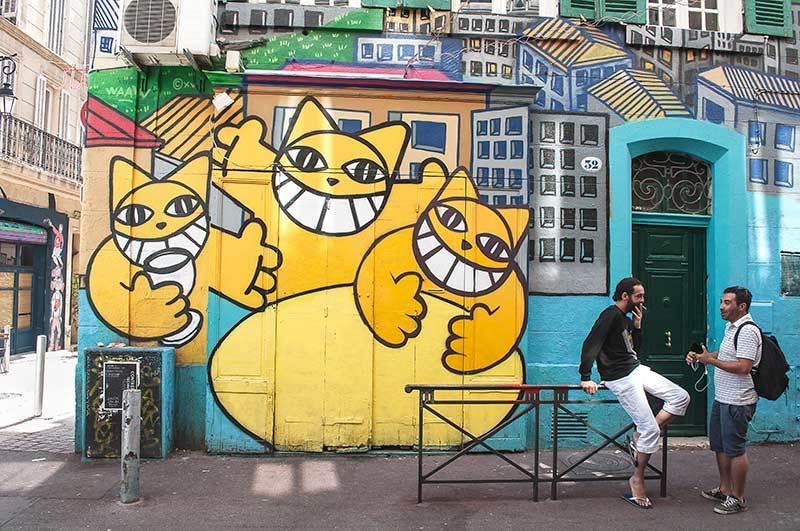 Marseille Murals