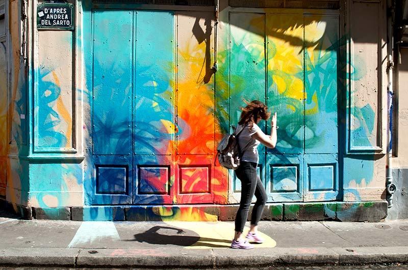 Danser dans les rues de Paris