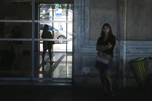 Sur le quai / On the plateform 5