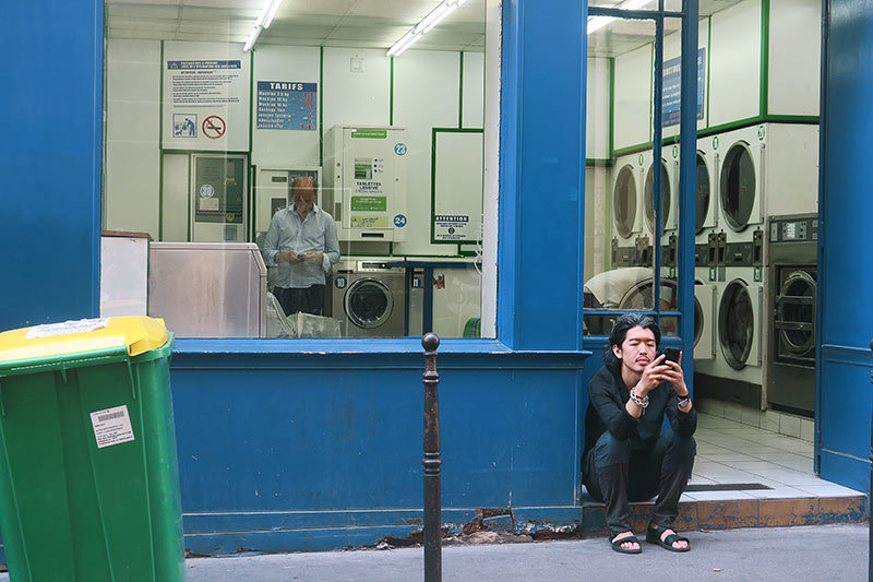 My beautiful laundrette / Laverie automatique 2