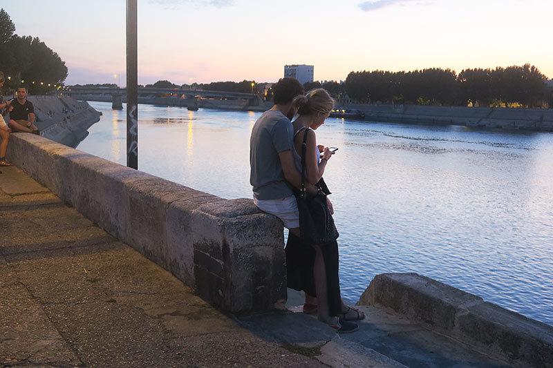 Un soir au bord du Rhône 3