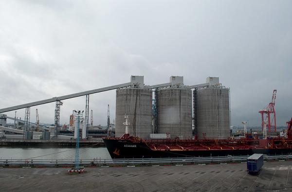 Métal et béton sur mer : Le port de Liverpool