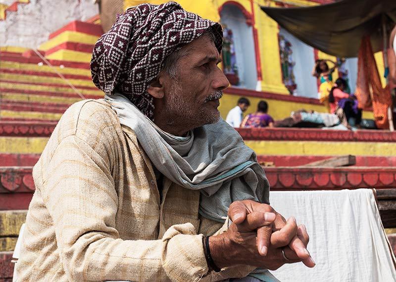 Un jour sur les ghats / One day on the ghats