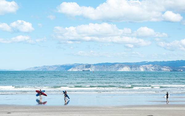 C'est l'heure du surf / Time of surfing