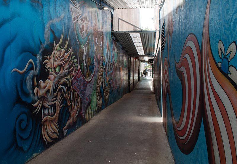 Street art   Dragon 3