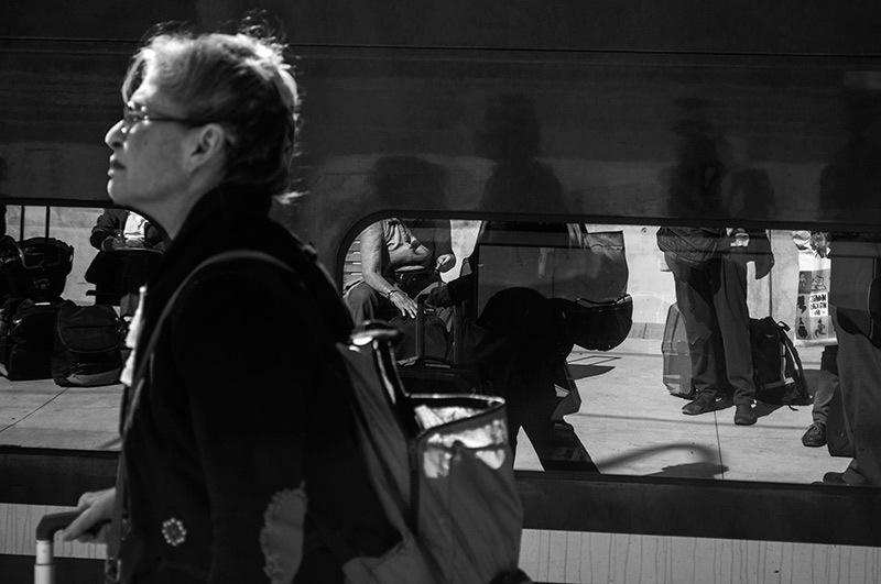 Sur le quai / On the plateform