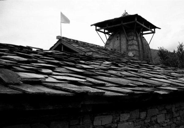 Toit de temple / Temple roof