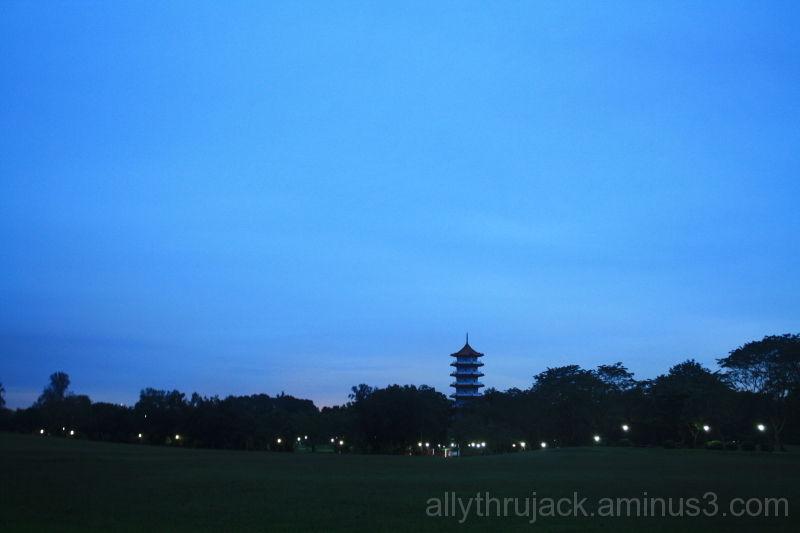 empty sky.