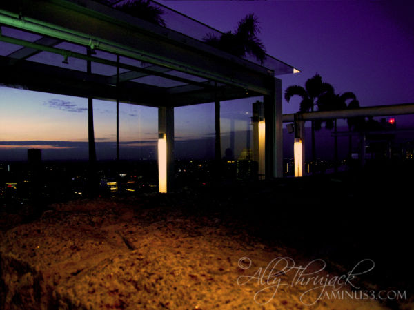 mbs, skypark, evening