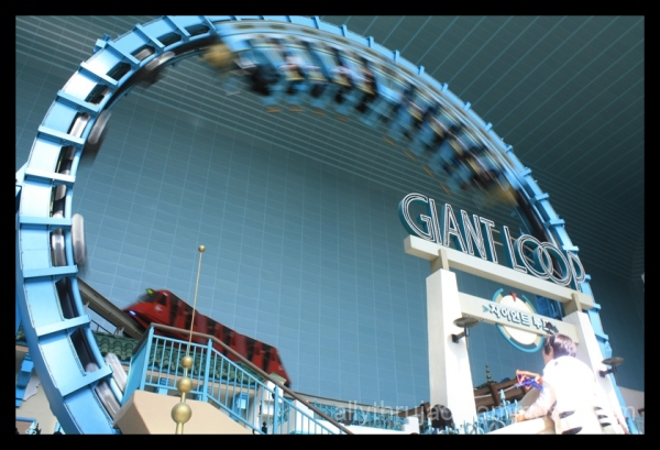 lotte world, theme park, giant loop, korea