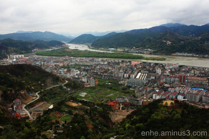 wenxi enhe photoblog 温溪 风光 远眺 china