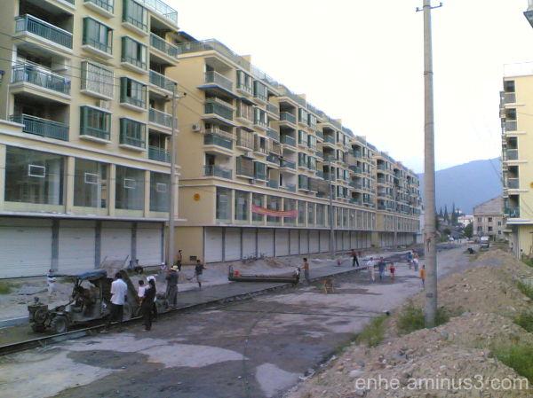 wenxi enhe photoblog 温溪 建筑 china 施工中