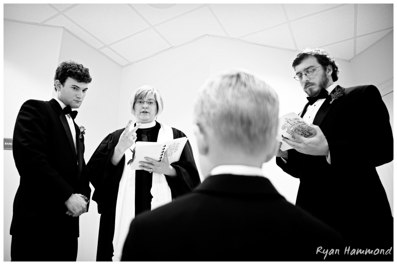 The ringbearer is given instructions