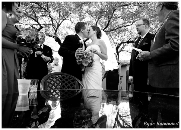 Groom and Bride have their moment