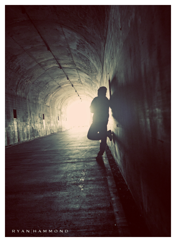 tunnel, silhouette, Tucson Photographer