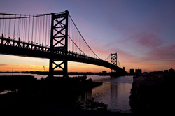 The Ben Franklin Bridge