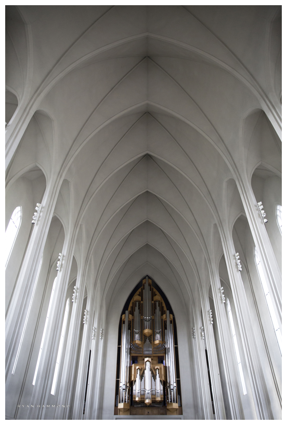 Hallgrimskirkja, Iceland, church, architecture