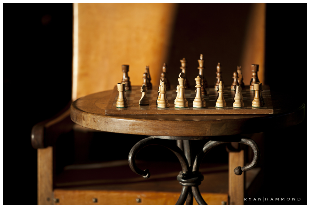 Chess, chessboard, window light