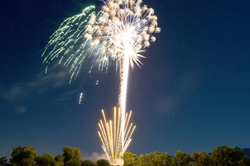 Fireworks Over Tubac