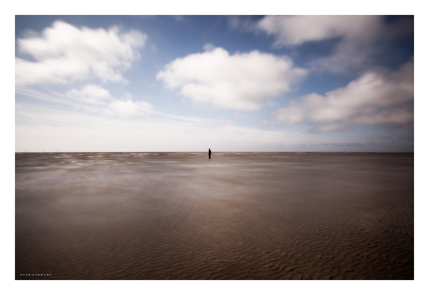 Isolation, Crosby Beach UK, photographer